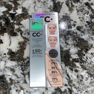NEW it cosmetics cc cream